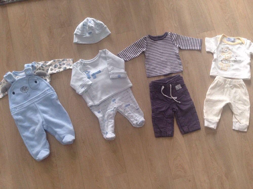 7bef2e9e3c720 Lot Vêtement Naissance et 1 Mois bébé Garçon in Bébé