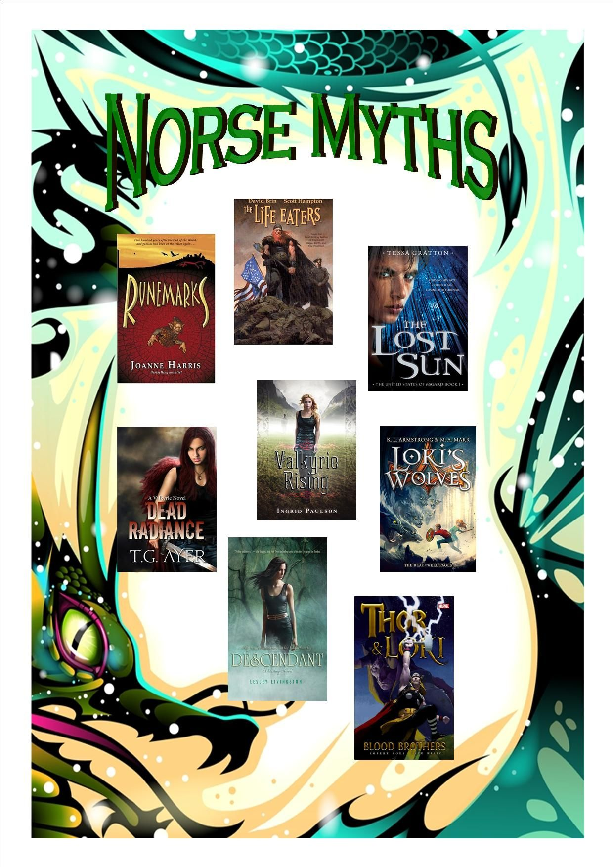 Looking for More Thor and Loki? Try some of these books based on Norse Myths.