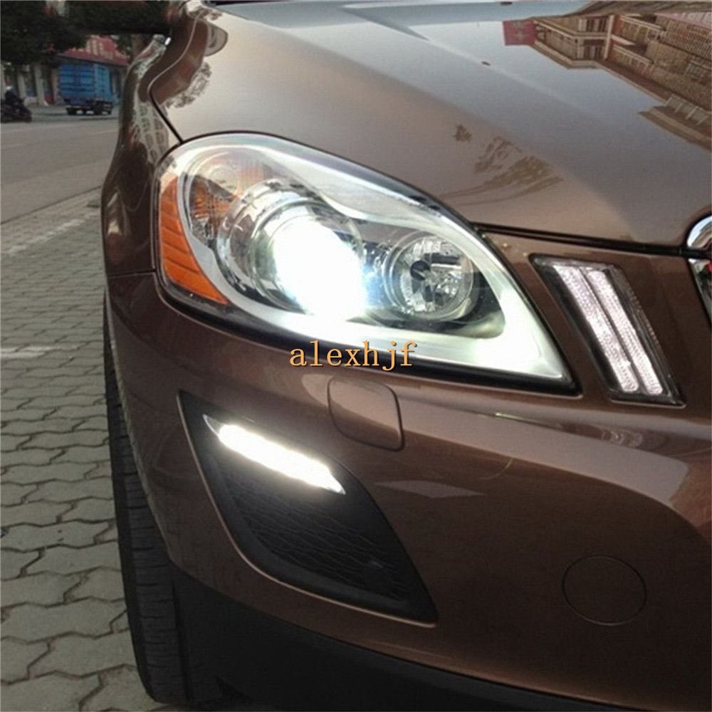 Yeats Led Daytime Running Lights Drl Led Front Bumper Fog: Yeats LED Daytime Running Lights DRL Case For VOLVO XC60