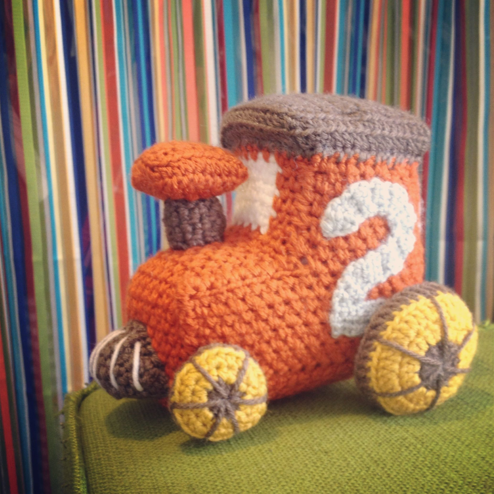 Little Toy Train Pattern | Crafts: Amigurumi | Pinterest | Medios de ...