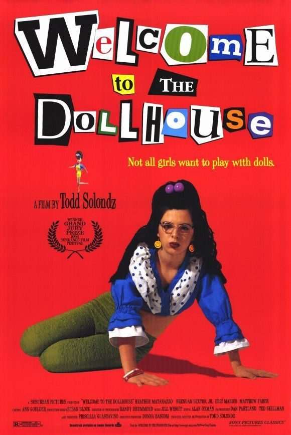 Welcome to the Dollhouse - The horrors of junior high are vividly re-created in this darkly comic tale of the painfully awkward Dawn Wiener, a  middle child who must cope with a dreary home life -- and with classmates who mercilessly taunt her.
