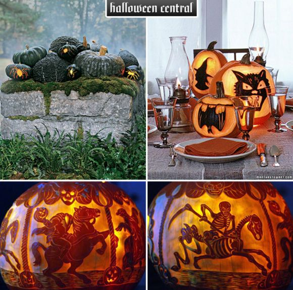 Scary halloween pumpkin carvings carving ideas