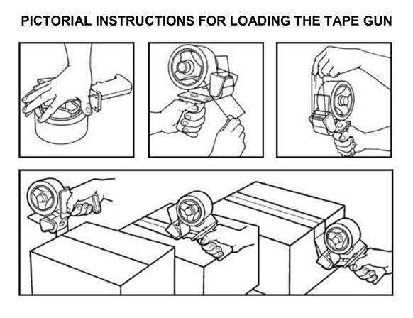 How To Use A Tape Gun Manual Guide