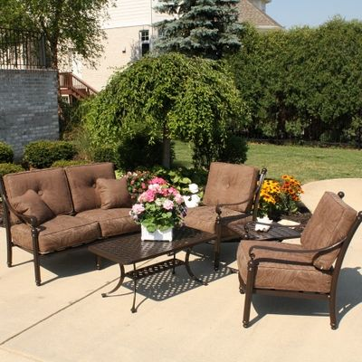 Heavy Duty All Weather Aluminum Outdoor Furniture That Is Built To Last Southwind Deep Seating