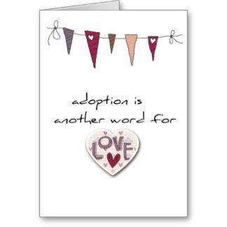 Adoption greeting card adoption pinterest adoption and adoption greeting card m4hsunfo