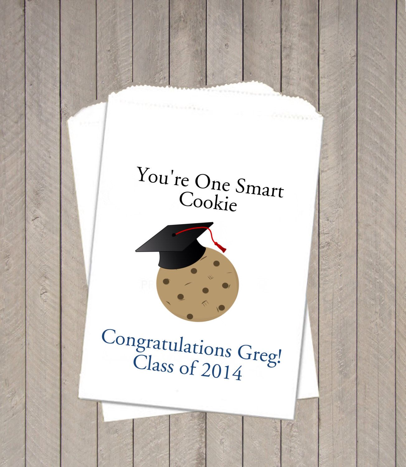 Graduation Favor Bags ~ Cookie Takeaway Bags, Graduation Cookie Bags ...