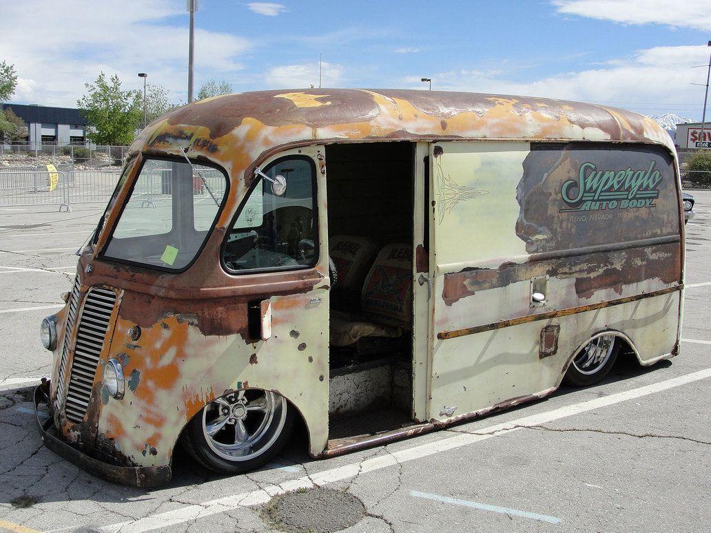 Vans rat rod, hot rod, delivery. | The UNDERGROUND! | Autos