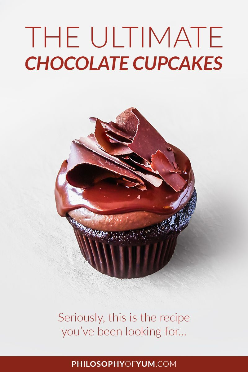 Chocolate Cupcake Snob Well So Am I It Has To Be Super Moist