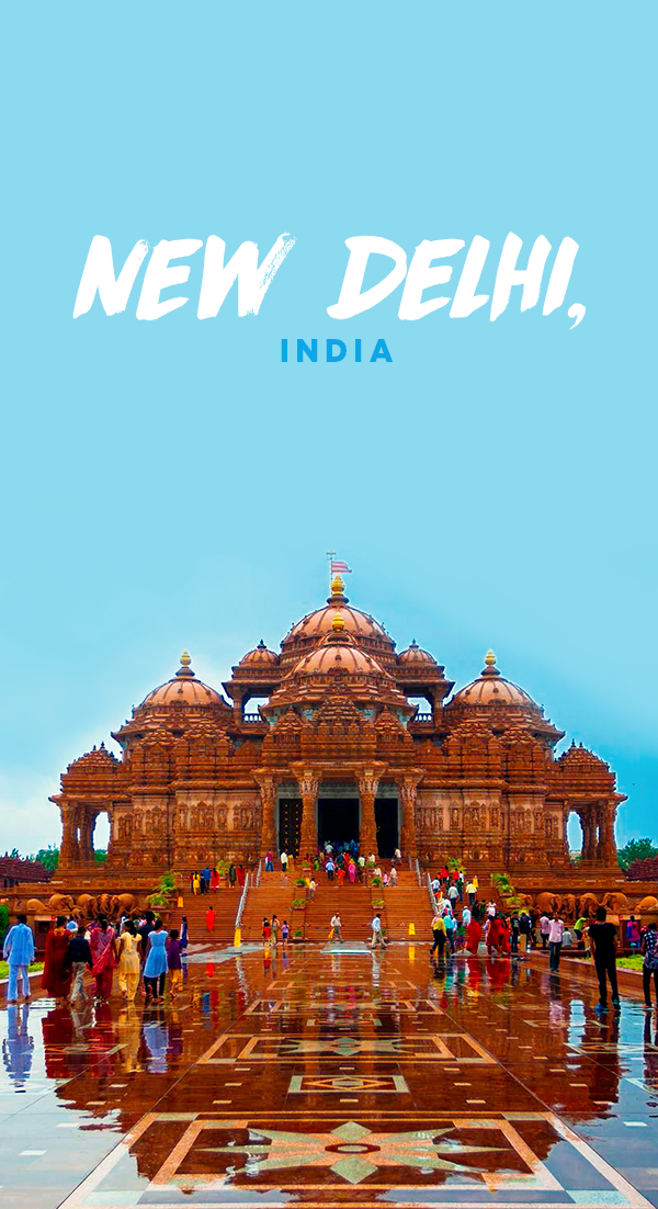 New Delhi is India's capital city and the home of