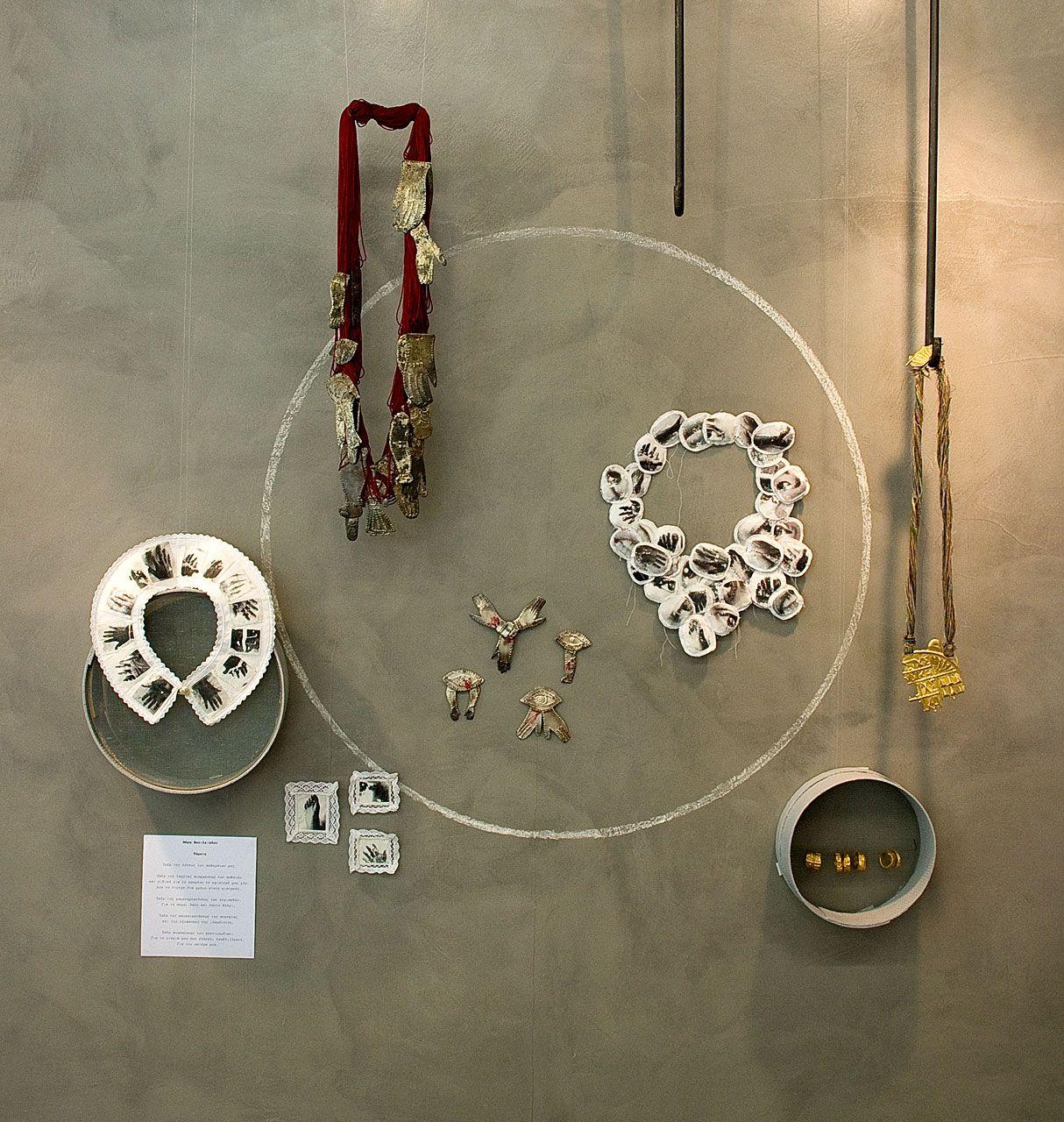 Window display ideas for jewelry  pieces by maro vasiliadou photo by contemporarty  imreus