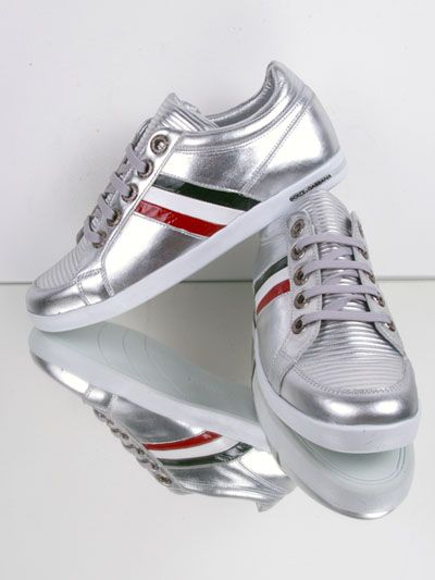 Dolce & Gabbana Silver Shoes - New Collection