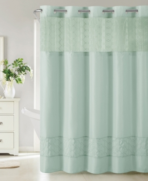 Hookless Downtown Soho 3 In 1 Shower Curtain Bedding Curtains