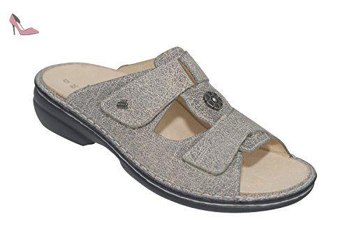 Finn Comfort, Mules pour Femme - gris - gris,