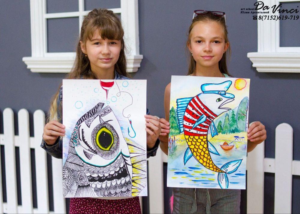 Художественная школа DaVinci — Фото | OK.RU | Детские ...