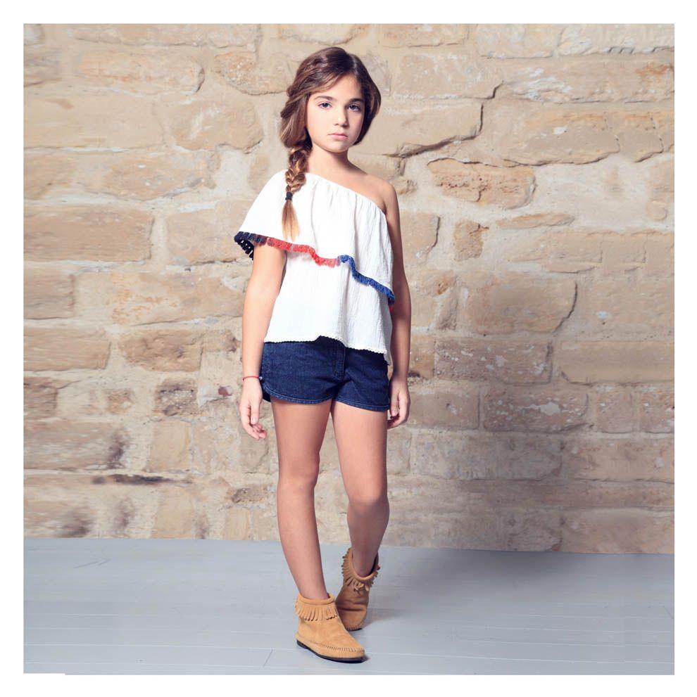 Bel Jeune Fille Mode fillette, Tenues enfants et Mode d