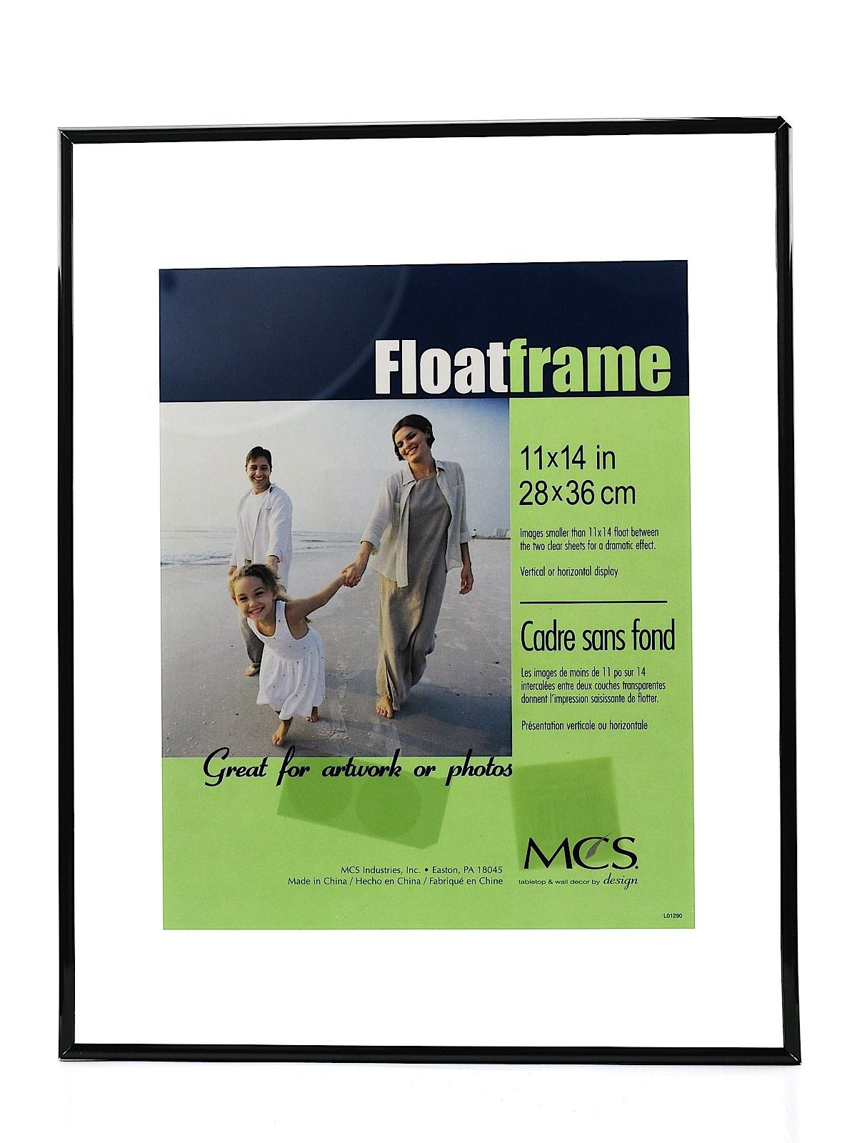 Mcs Original Float Frame Ad Supplies Art Crafts Artist Products Ad Floating Frame Deep Wall Color Frame
