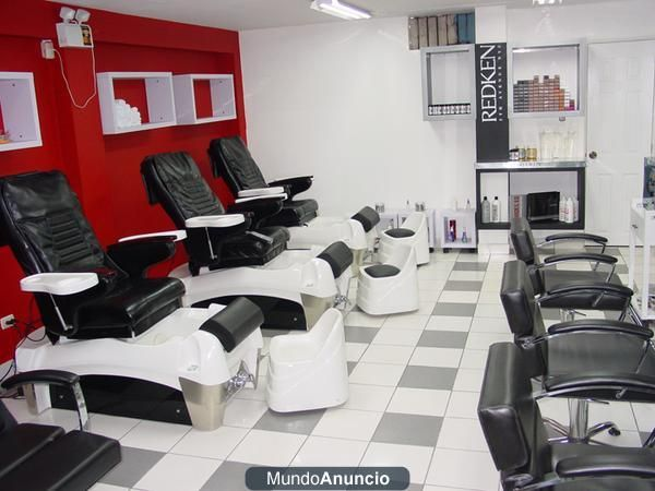 Salon de belleza peluqueria i wish pinterest - Salones de peluqueria decoracion fotos ...