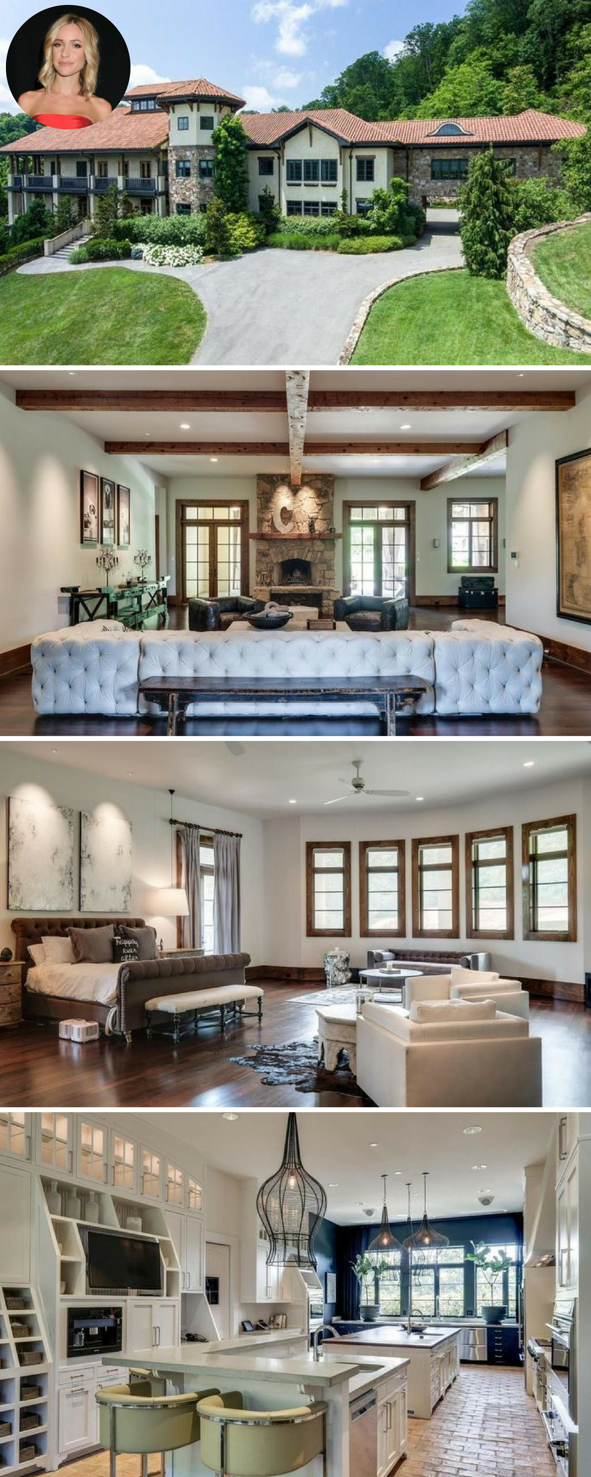 Kristin Cavallari And Jay Cutler Selling 7 9m Nashville Home Featured In Upcoming Reality Show Celebrity Houses Celebrity Houses Interior Kristin Cavallari