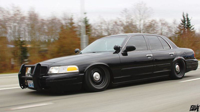 ford crown victoria black rides styling slammed cars ford police victoria police ford crown victoria black rides