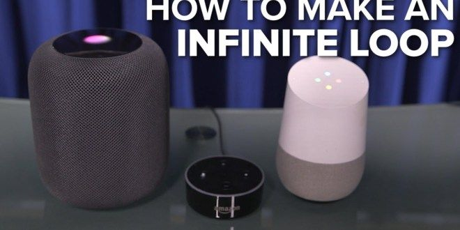 How to make an infinite loop with Apple HomePod, Amazon