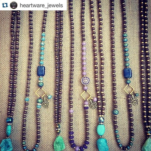 Great #pendant necklaces!  Thanks @heartware_jewels for sharing!! #Repost ・・・ Some new long necklaces, made with gemstones, wood beads and druzy pendants. . . . #etsy #etsysellers #etsyshop #madeinusa #jotd #handmade #handmadejewelry #handmadeisbetter #gemstonejewelry #druzy #madewithmichaels #halcraft #handmadenecklace