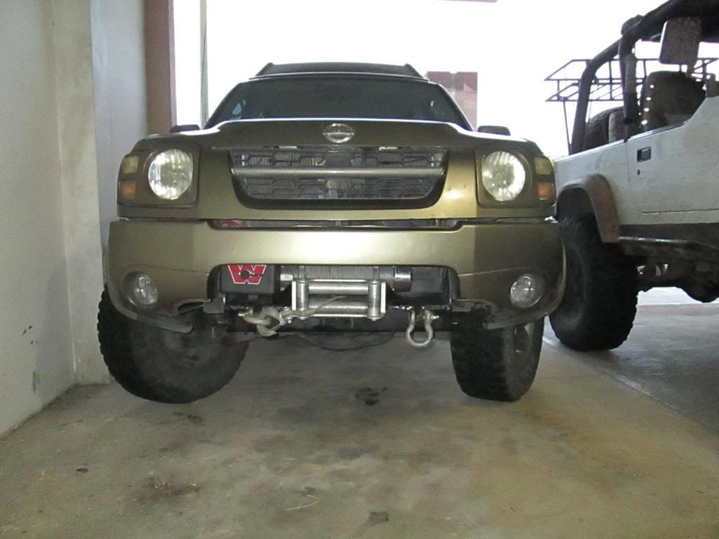 Mounting Winch On Stock Bumpers Nissan Xterra Forum Nissan Xterra Suv Camping Nissan