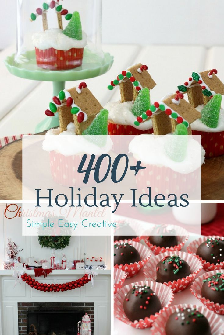 100 days of Homemade Holiday Inspiration | Holidays, Crafts and Gift