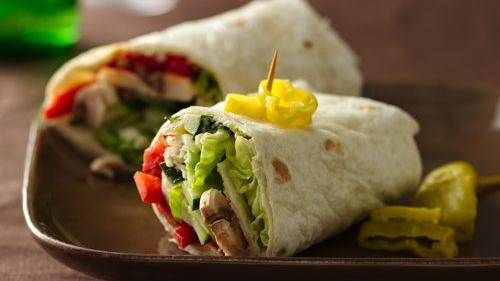 Easy, tasty wraps for college