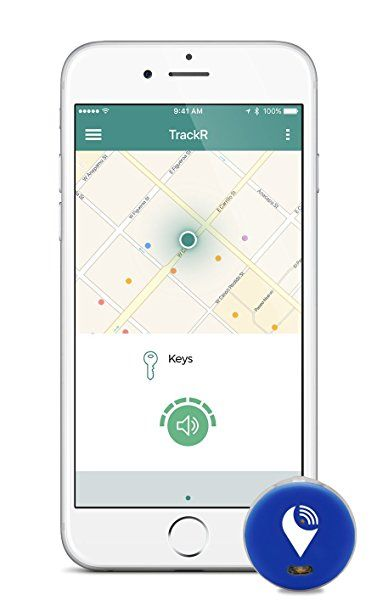 TrackR pixel Bluetooth Tracking Device. Item Tracker