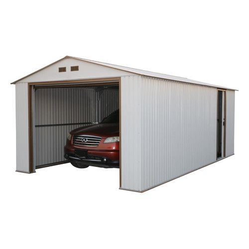 Found it at Wayfair - Imperial 12 Ft W x 20 Ft D Metal Garage Shed