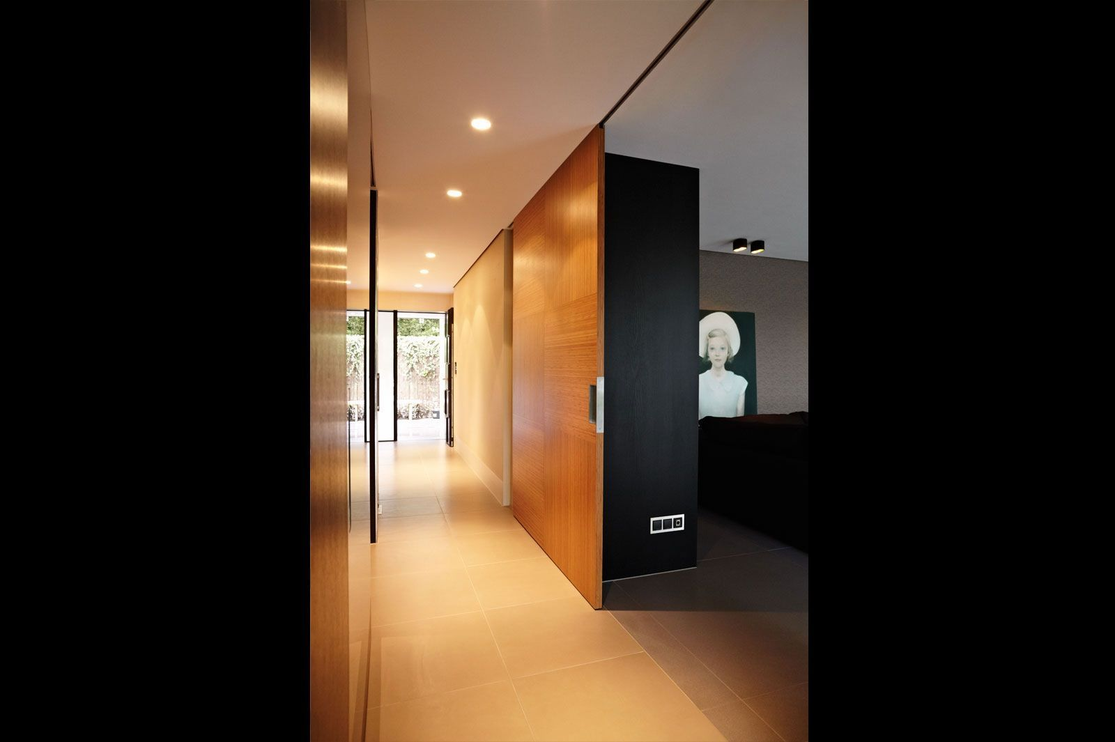 Bamboo sliding door, interior design by Osiris Hertman Studio #osirishertmaninteriors Bamboo sliding door, interior design by Osiris Hertman Studio