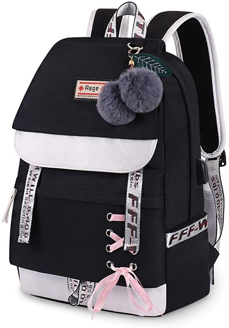 Photo of Asge Backpack for Girls Kids Schoolbag Children Bookbag Women Casual Daypack