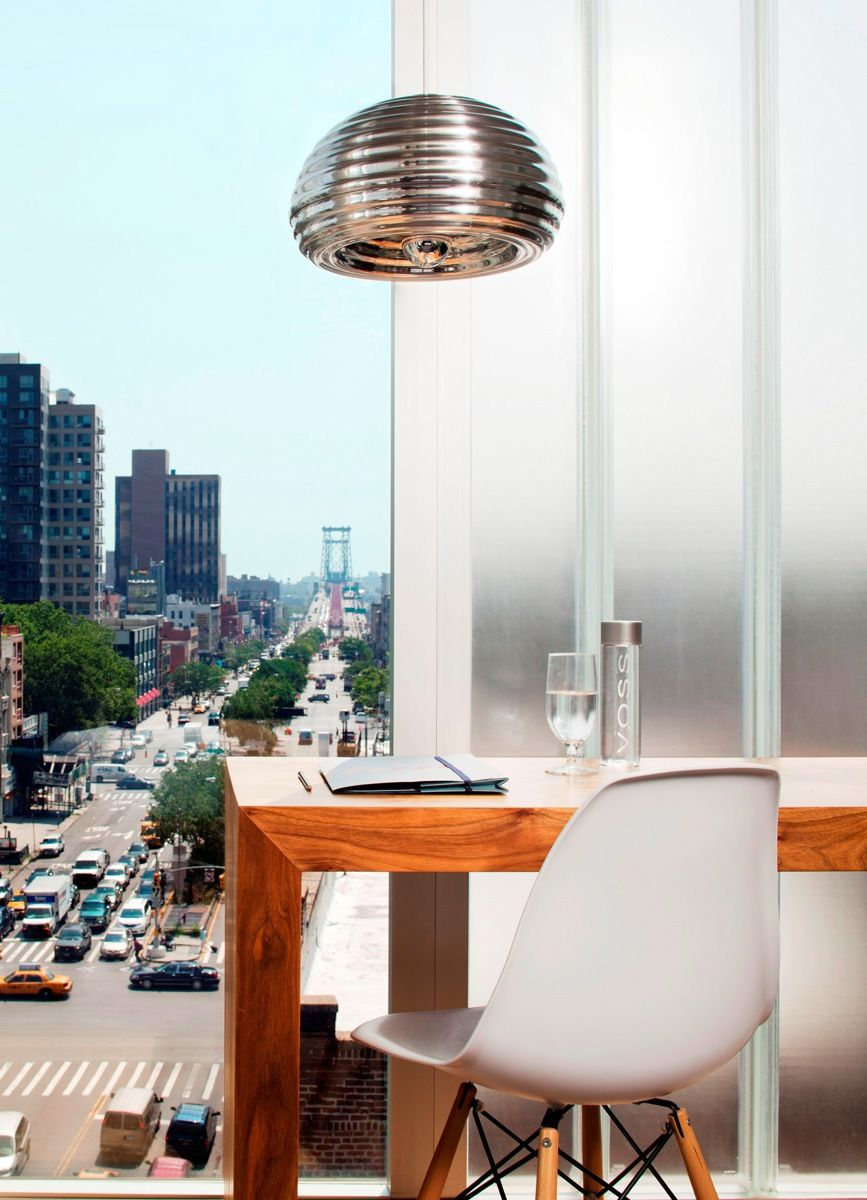 flos lighting nyc. DSW Chair Designed By Charles \u0026 Ray Eames :: 1950 And Pendant Light Splügen Bräu Flos Lighting Nyc