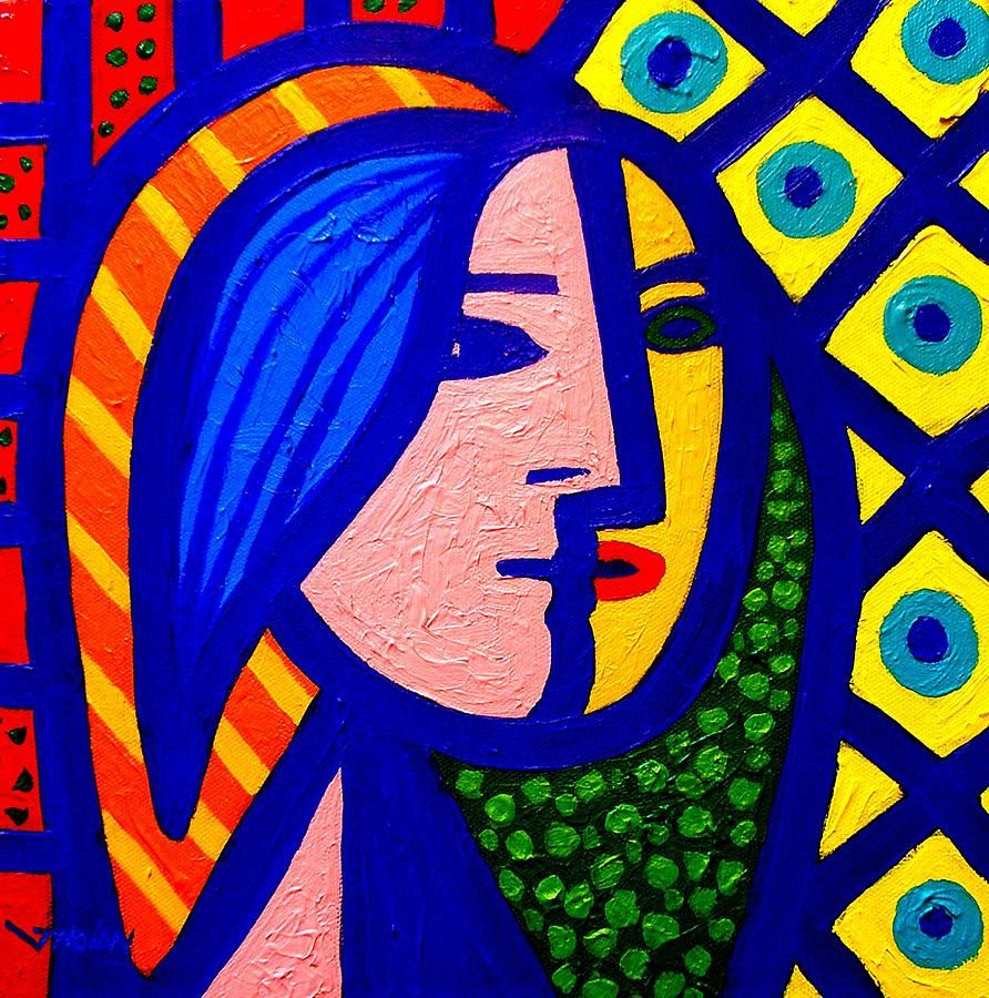 Homage To Pablo Picasso Painting - Homage To Pablo Picasso Fine ...