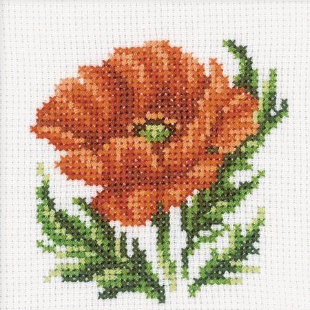 Scottish Heather Flowers Cross Stitch Kit Kanaviceler Kanavice Kanavice Ornekleri