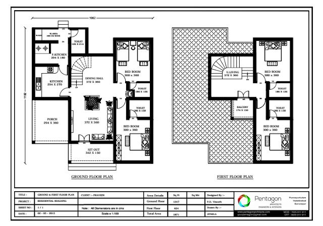 4 Bedroom Beautiful Kerala Home Design In 1871 Sq Ft With Free Plan Free Kerala Home Plans Kerala House Design New House Plans House Plans