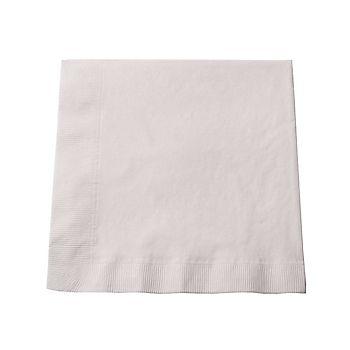 Paper Dinner Napkin White (Per 50)
