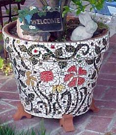 Pots In Mosaic   Googleu0027da Ara
