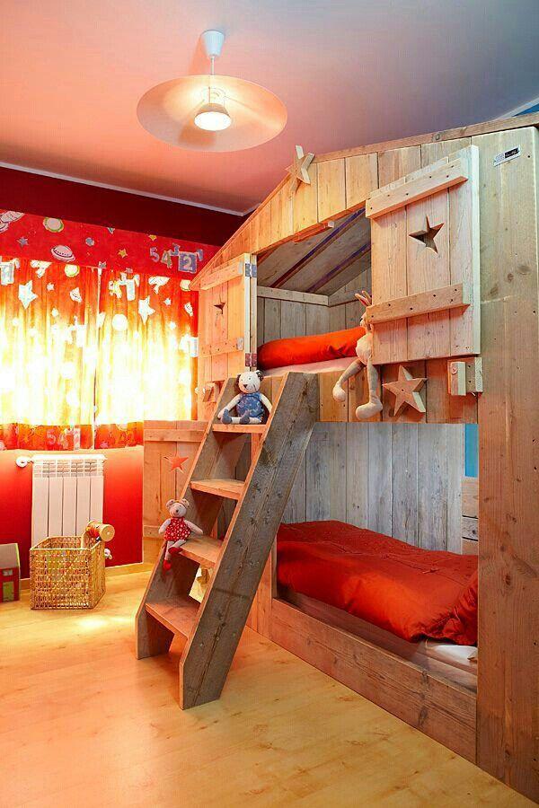 32 lits pour enfants compl tement hallucinants. Black Bedroom Furniture Sets. Home Design Ideas