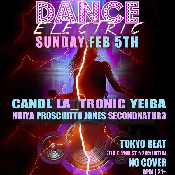 Tonight join us for #DanceElectric @ #TokyoBeat in #LittleTokyo! #DTLA #EMXLA #RaveMeetup #RaveLoopDotCom #RaveLoop #RaveSave #HouseMusic #BassHouse #FutureHouse #FutureBeats #FutureBass #ElectroHouse #BigRoomHouse #TechHouse #DeepHouse #MinimalTechno #PromoCode #PLUR #TerryPham