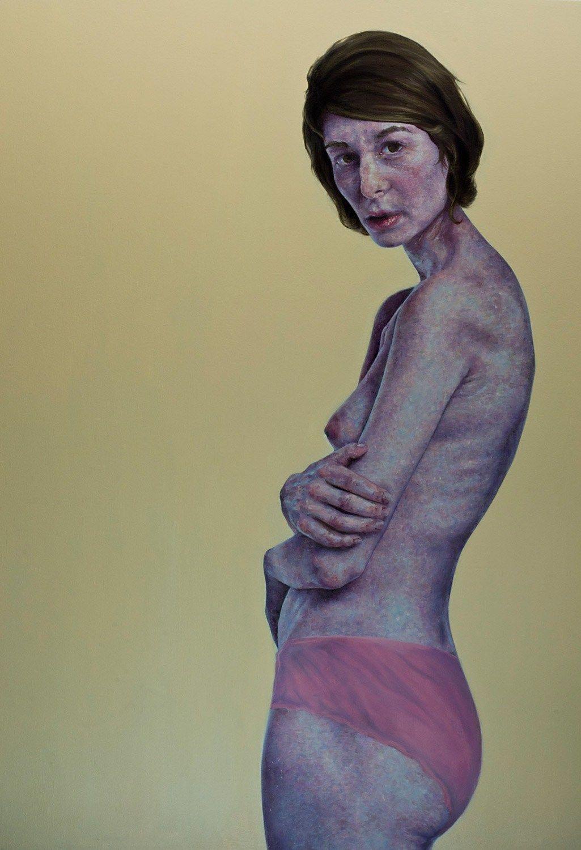 Untitled Nude, Nick Ward (b1950 Great Yarmouth, UK; based in Boston, MA