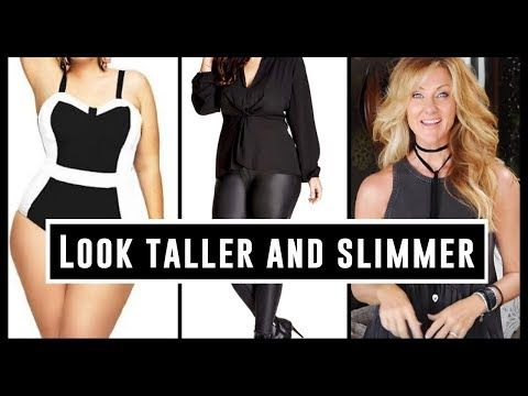 how to look instantly slimmer  women over 50  youtube