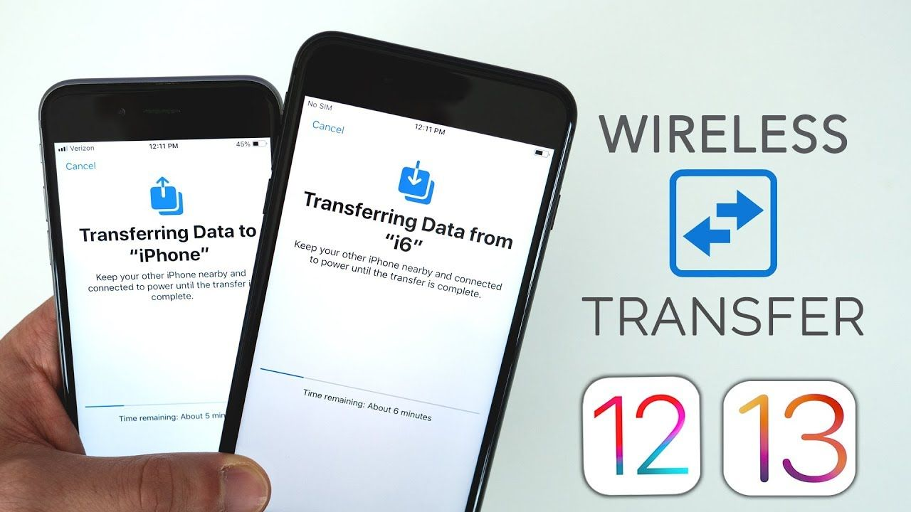 NEW iOS Data Migration Feature It's INCREDIBLE
