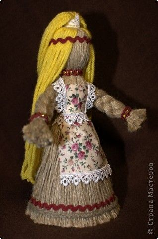 Куклы поделки из ниток 16