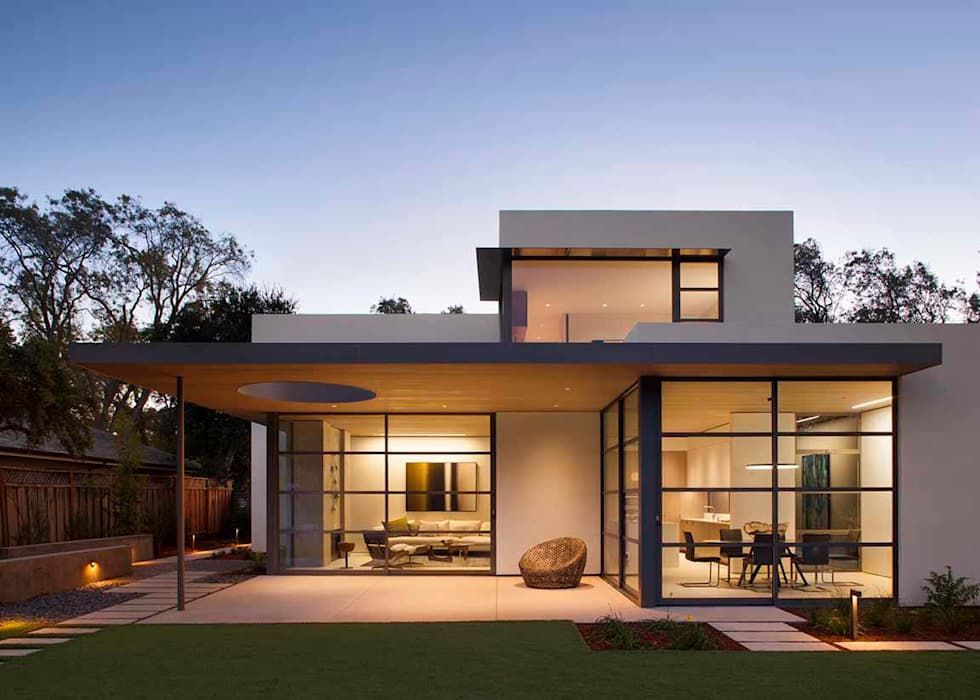 The Lantern House modern Houses by Feldman Architecture Home