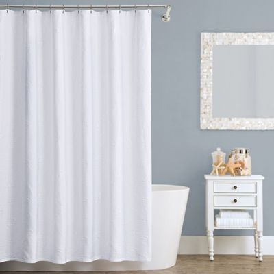 Lamont HomeTM Seaspray Cotton Shower Curtain