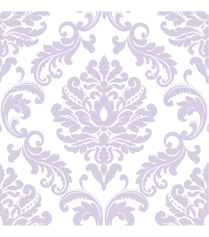 Wallpops Nuwallpaper Purple Ariel Damask Peel And Stick Wallpaper Jo Ann Wallpaper Peel And Stick Wallpaper Pattern Wallpaper