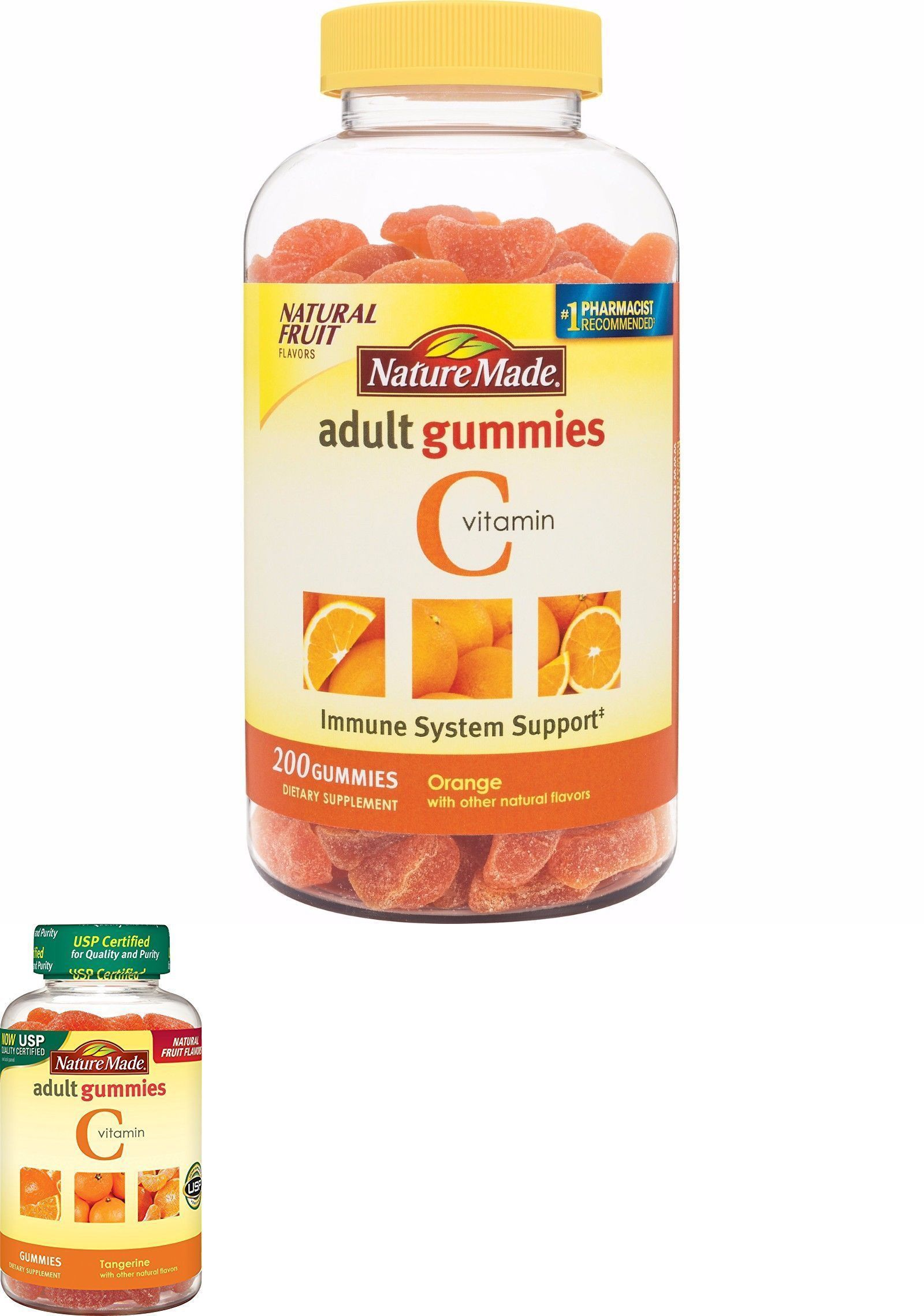 Nature Made Vitamin C Adult Gummies Orange Flavor Supports Immune Triple Flex Strength 170 Caplets Vitamins And Minerals 11776 Health 200 Ct Buy It Now Only 1299 On Ebay