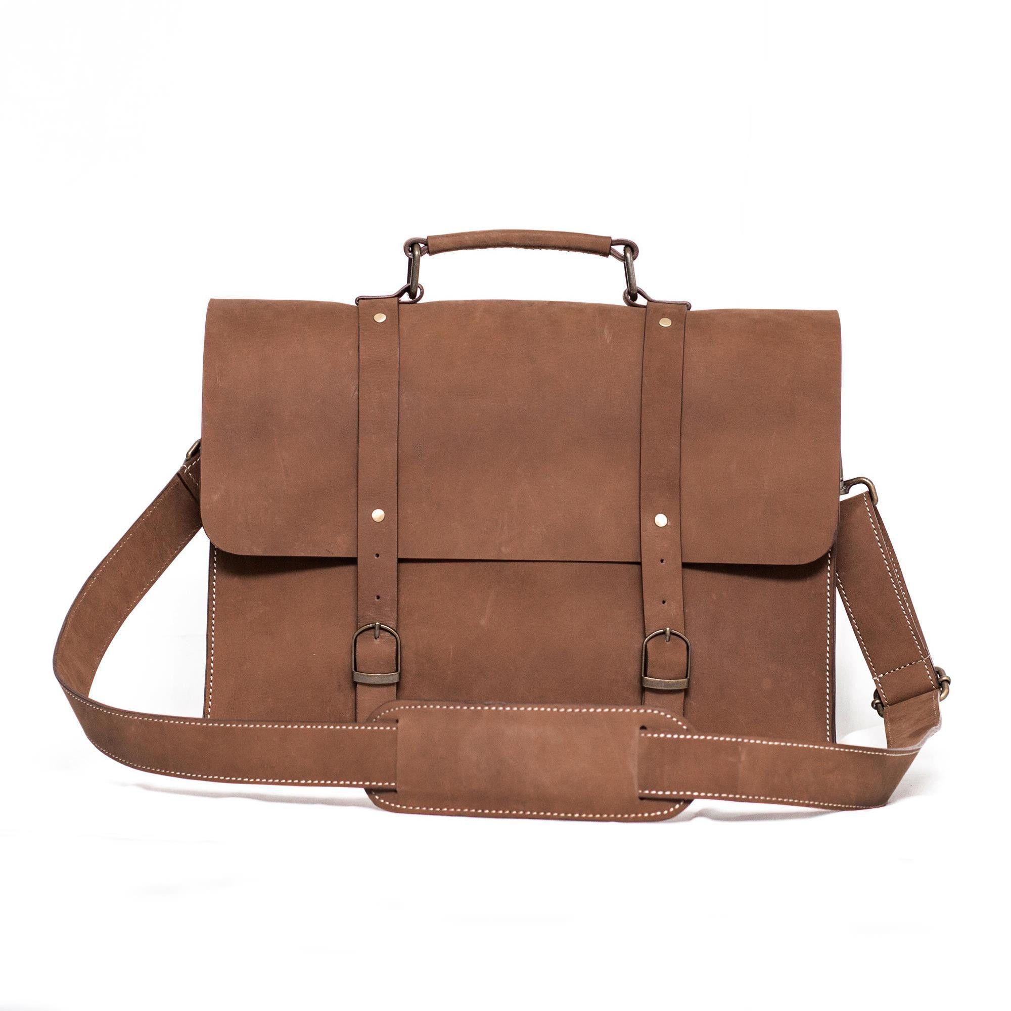Ultra-modern Leather Satchel Bag