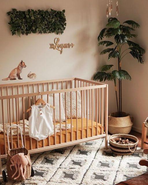 BeyazBegonvil Çocuk Odalarında Rustic Dekor Baby